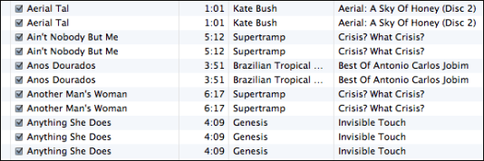 apple itunes show exact duplicate tracks