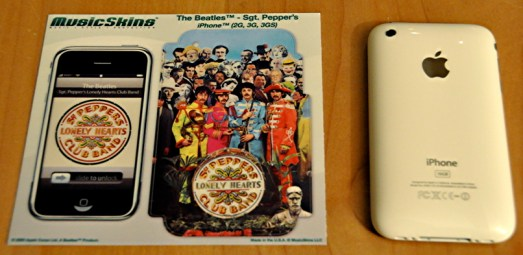 iphone musicskins beatles sgt peppers
