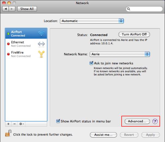 how to find my chromecast wifi address in my mac