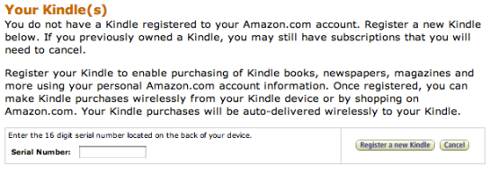 amazon kindle reset web site