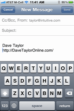 iphone change default email signature 6