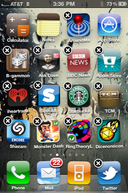 iphone create app folder 2