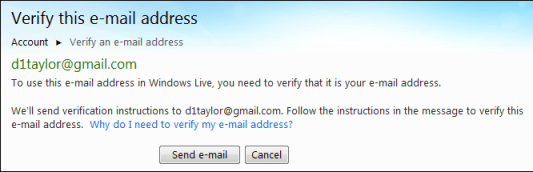 windows live verify email address 2