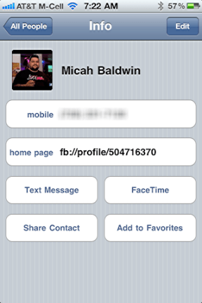 iphone facebook sync profile pics 8