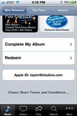 iphone itunes redeem starbucks song card 2