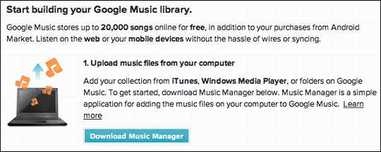 google music getting started 1
