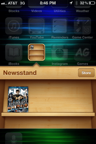 iphone magazine stand subscribe 2