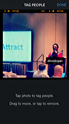 Dino Dogan tagged at NMX in Instagram