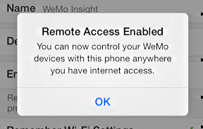 remote access enabled