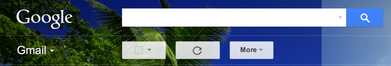 gmail search bar