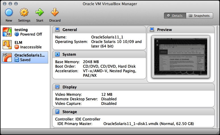 virtualbox from sun / oracle