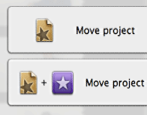 copy or move a project onto an external backup disk drive in imovie 11