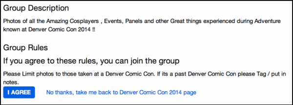 terms of denver comic con flickr photography group