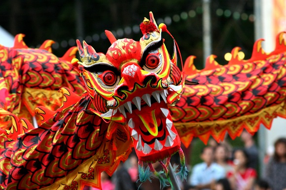 Chinese Year of Dragon 580x385 Top 10 Interesting Facts About China