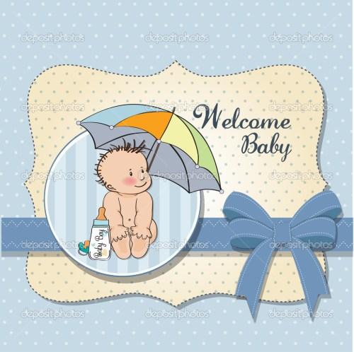 Medium Of Welcome Baby Boy