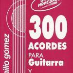 1989 300 acordes para Guitarra y Timple Emilio Gomez.