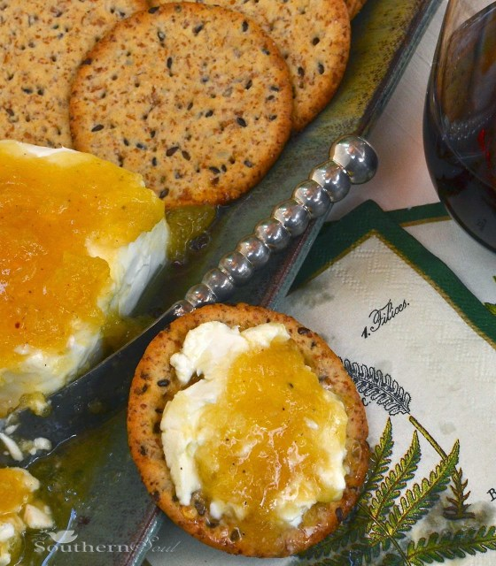 A Southern Soul | Jezebel Sauce with Cream Cheese
