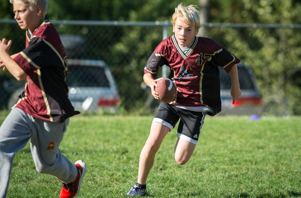 Flag Football Season Kicks Off