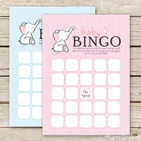 Free Baby Bingo Cards