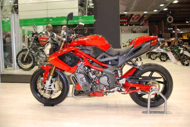 Chinese Motorcycle Manufacturer Qianjiang Invests $26 Million into Benelli 2010 benelli tnt r160 eicma 2 635x425