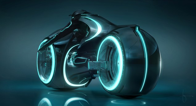 New Tron Light Cycle from Tron Legacy Tron Legacy lightcycle 635x344
