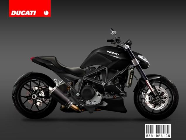 Ducati Abandons Vyper Cruiser Concept ducati vyper concept luca bar black 635x476