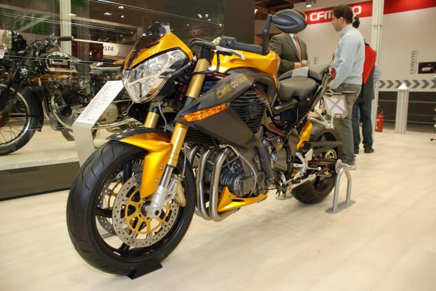 2010 Benelli TnT 899 Cafe Racer at EICMA 2010 Benelli TnT 899 Cafe Racer EICMA 1 635x425