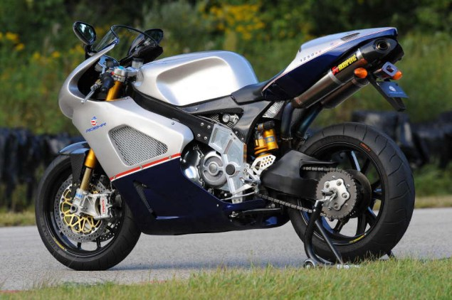 Roehr eSuperbike to Cost $30,000 Roehr 1250sc stand 635x422