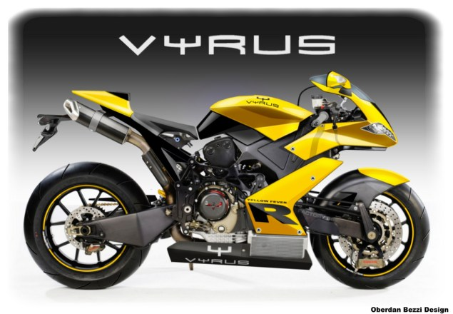 Vyrus Street and Superbike by Oberdan Bezzi Oberdan Bezzi Vyrus street bike yellow fever 635x440