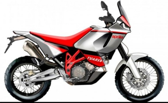 Aprilia Tuareg Adventure Tourer Rumored aprilia tuareg sketch