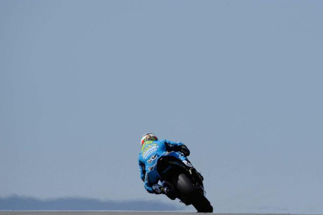 The Suzuki Silly Season Roundup: The Rookie, The Veteran, & The Frenchman Rizla Suzuki single bike team 635x422