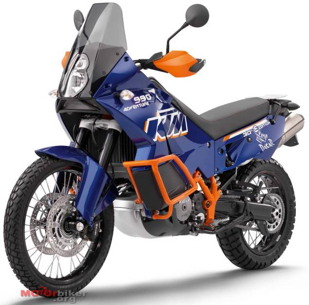 2011 KTM Adventure 990 Dakar Breaks Cover 2011 KTM Adventure 990 Dakar leak
