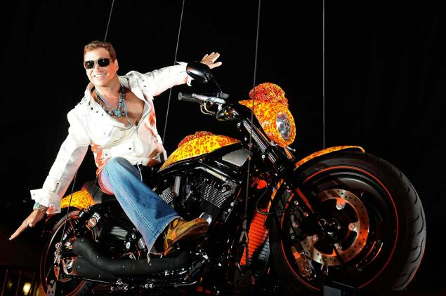 "Jack Armstrong's ""Million Dollar Harley Davidson"" – Further Proof You Can't Buy Taste Jack Armstrong custom Harley Davidson 635x422"