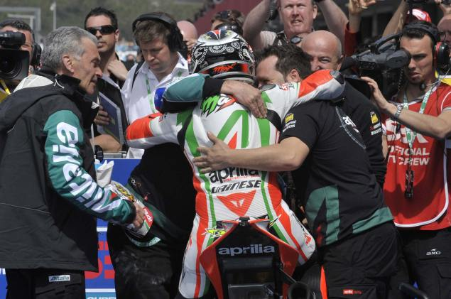 Max Biaggi Signs with Aprilia for Another Two Years Max Biaggi WSBK World Championship Aprilia 2 635x421