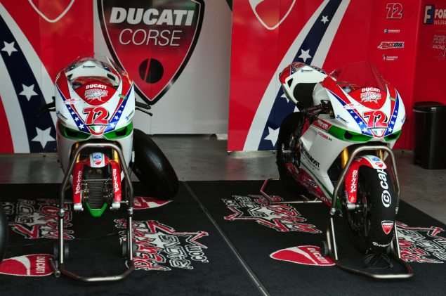 Larry Pegram Says Ciao to Ducati Larry Pegram Racing NJMP Ducati 635x421