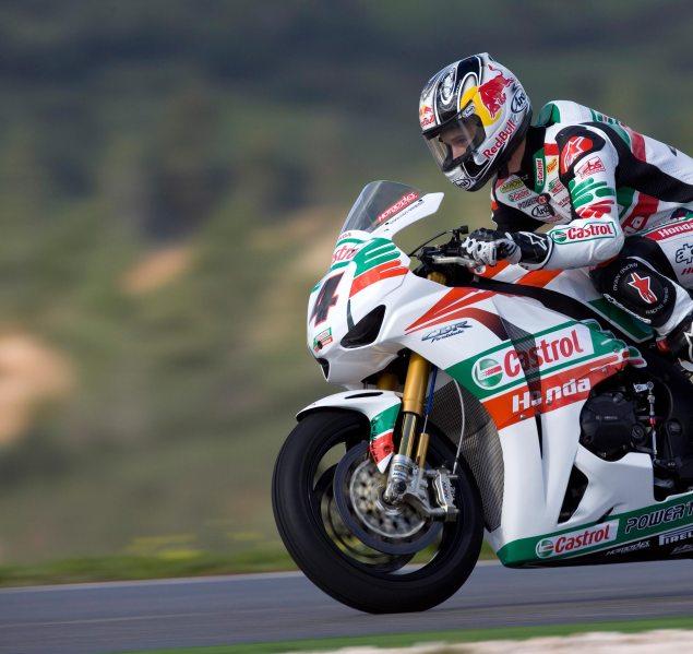 WSBK Concludes Three Days of Testing in Portimao Jonathan Rea Castrol Honda WSBK test Portimao 635x599