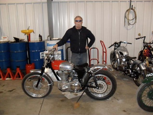 Paul Sr. Quietly Selling Bikes from His Personal Collection Paul Teutul Sr 1957 Ariel T 5 auction