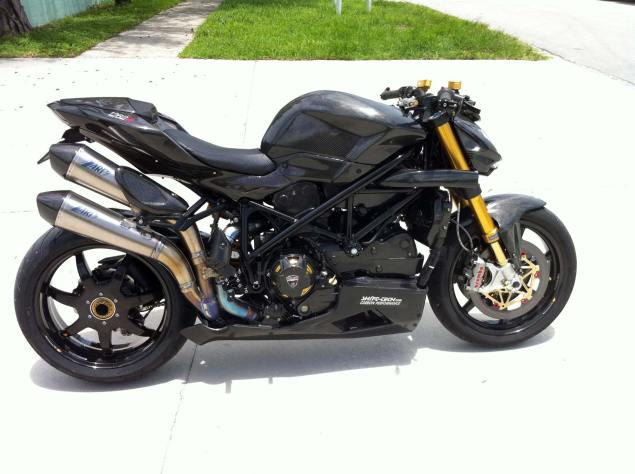 For Sale: Carbontastic Ducati Streetfighter That Will Eat Unattended Small Children Shift Tech Carbon Ducati Streetfighter 8 635x474