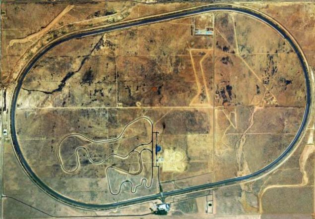 For Sale: Honda Proving Center   4,255 Acres, 7.5 Mile Oval, Simulated Roads, Slightly Used honda proving center of california1 635x442