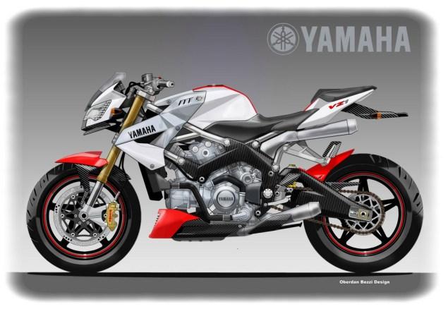 Yamaha VZ1 Concept by Oberdan Bezzi Yamaha VZ1 concept Oberdan Bezzi Design 635x438