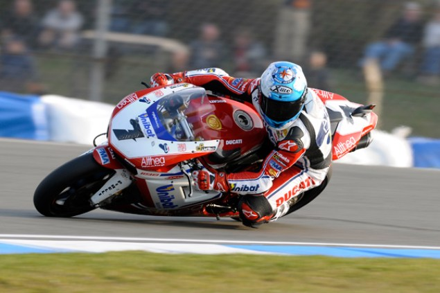 WSBK: Checa Breaks Lap Record at Donington Superpole Carlos Checa WSBK Superpole Donington Park