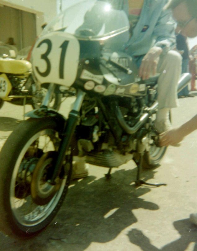 Photos: The Daytona 200 Thirty Five Years Ago   When Bikes Were Bikes & Men Were Men Cycle mag Old Blue Ducati 635x809