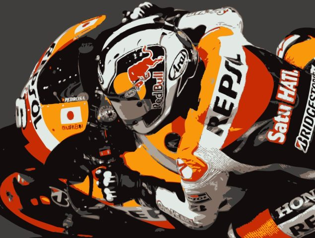 Update on Dani Pedrosas Shoulder Condition Dani Pedrosa Vector 635x480