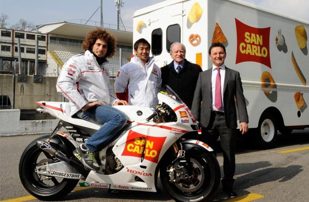 Honda Now Has Five Factory Riders   Knights San Carlo Honda Gresini as a Factory Squad San Carlo Gresini Honda launch 635x414