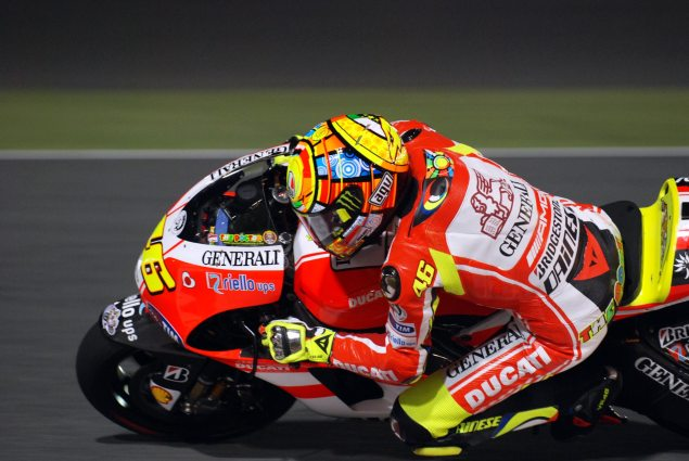 Asphalt & Rubber @ Qatar GP Valentino Rossi close up1 635x425