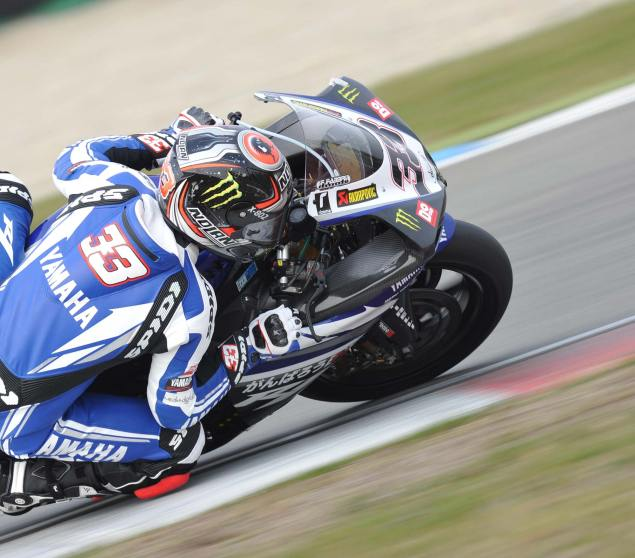 WSBK: Close Racing Shakes Up the Order in Race 1 at Assen Marco Melandri Assen WSBK 2011 635x558