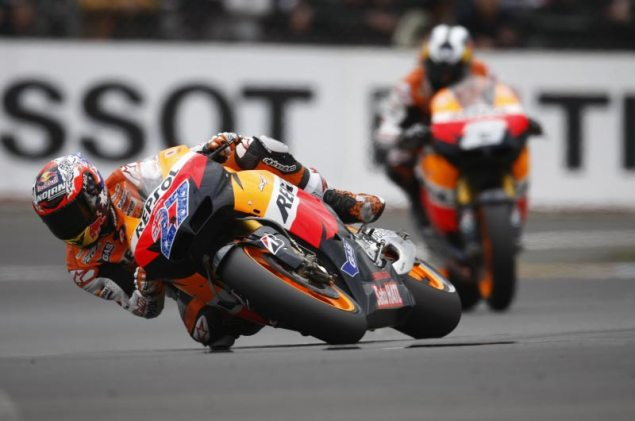 MotoGP: Sacré Bleu During Racing at the French GP Casey Stoner MotoGP French GP 635x421