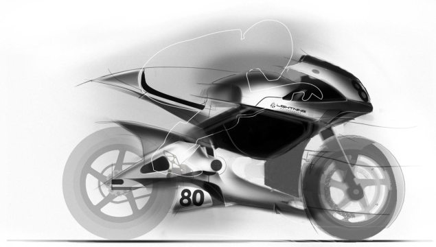 2012 Lightning Motors Concept Sketch   Two Bike Team Lightning Motors electric superbike concept 635x360