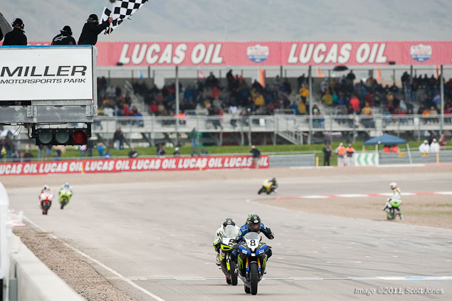 Sunday at Miller Motorsports Park with Scott Jones Sunday Miller Motorsports Park AMA WSBK Scott Jones 15