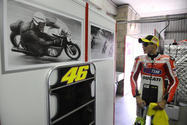 Legacy. Valentino Rossi Ducati Corse garage Legacy 635x423